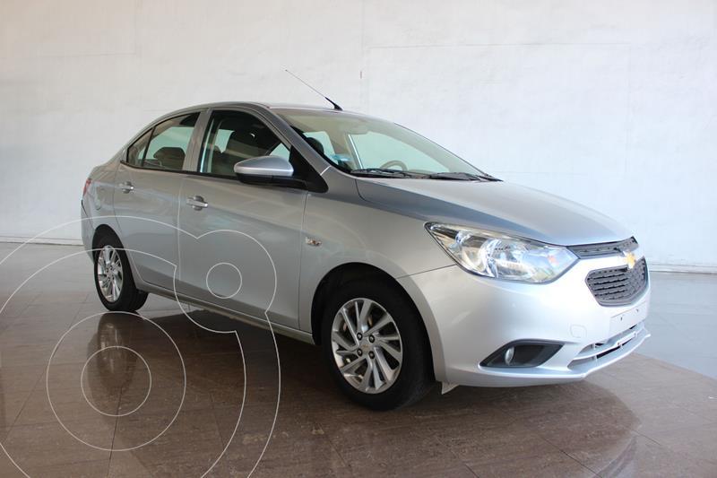Chevrolet Aveo LS Aa usado (2019) color Gris precio $169,200