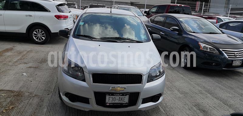 Chevrolet Aveo LT usado (2017) color Plata precio $125,000
