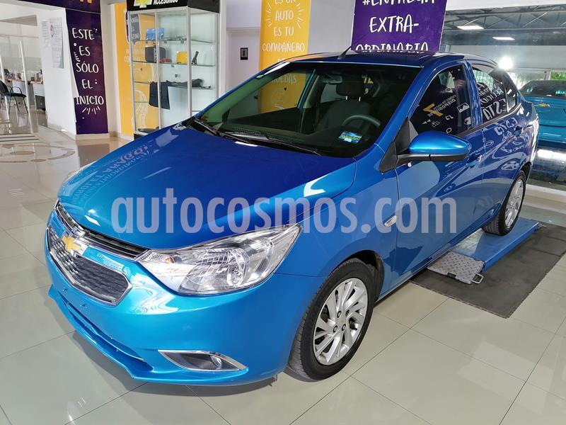 Chevrolet Aveo LTZ usado (2018) color Azul Claro precio $199,000