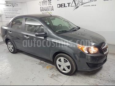 Chevrolet Aveo LTZ Aut usado (2017) color Gris Oxford precio $129,000