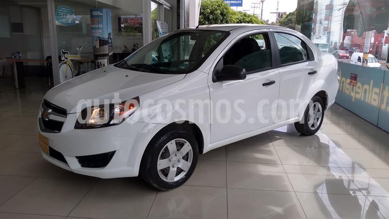 Chevrolet Aveo LS Aa usado (2018) color Blanco precio $129,000