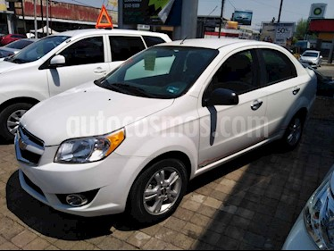 Foto Chevrolet Aveo 4p LTZ L4/1.6 Aut usado (2017) color Blanco precio $145,000