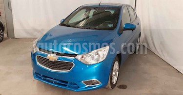Chevrolet Aveo 4p LTZ L4/1.5 Aut usado (2018) color Azul precio $149,900