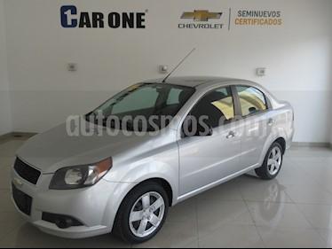 Chevrolet Aveo LS Aa usado (2016) color Plata precio $136,900