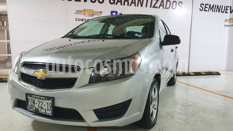 Chevrolet Aveo LS usado (2018) color Plata Brillante precio $134,999