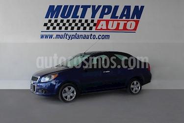 Chevrolet Aveo LS usado (2016) color Azul precio $138,000
