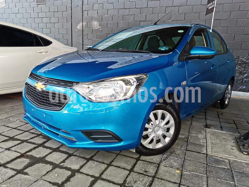 Foto Chevrolet Aveo LS usado (2019) color Azul Acero precio $170,000