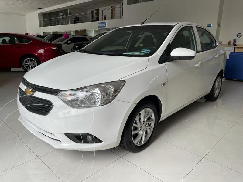 Foto Chevrolet Aveo LT Aut usado (2020) color Blanco precio $199,500