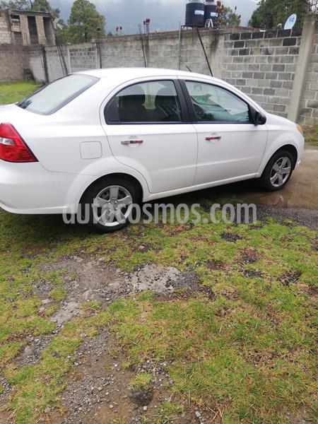 Chevrolet Aveo LT usado (2012) color Blanco precio $79,000