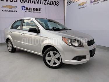 Chevrolet Aveo LT Aut usado (2016) color Plata precio $110,000