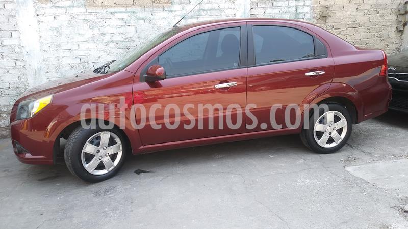 Chevrolet Aveo Paq B usado (2013) color Rojo precio $80,000
