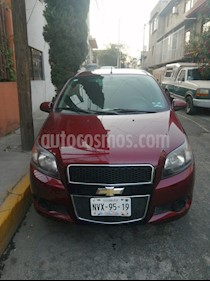 Chevrolet Aveo LT usado (2014) color Rojo Tinto precio $85,000