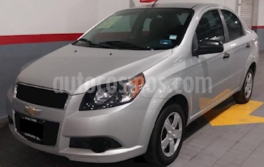 Chevrolet Aveo 4P LT TM5 A/AC. VE CD BLUETOOTH R-15 usado (2014) color Plata precio $105,000