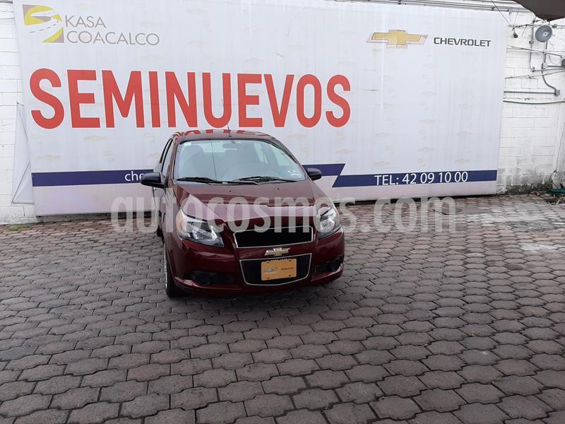 Chevrolet Aveo LT Aut usado (2017) color Rojo precio $134,000