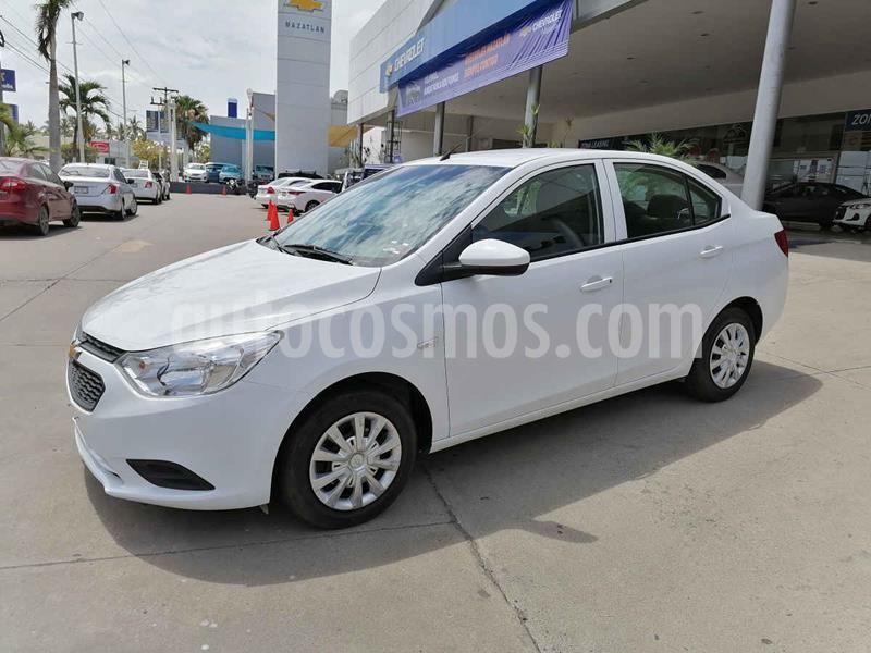 Chevrolet Aveo LS Aa usado (2019) color Blanco precio $175,000