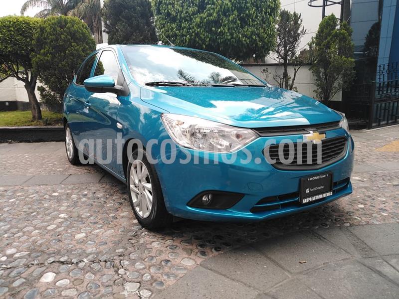 Chevrolet Aveo LT  usado (2019) color Azul precio $195,000