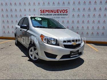 Chevrolet Aveo LS Aut usado (2017) color Plata Brillante precio $138,000