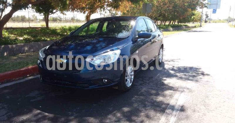 Chevrolet Aveo Paq D usado (2020) color Azul precio $179,800