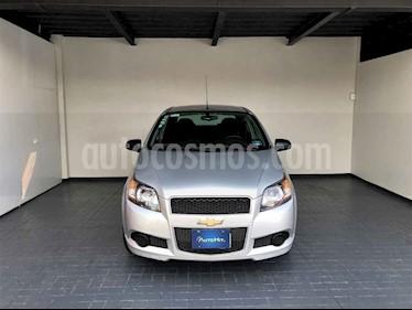 Chevrolet Aveo 4 pts. LT F MT usado (2016) color Plata precio $133,000