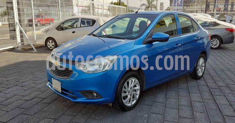 Chevrolet Aveo LT Aut usado (2019) color Azul precio $154,900