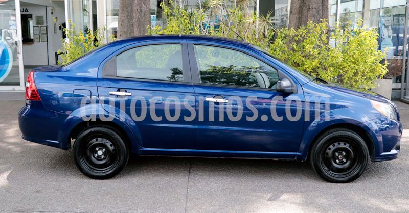 Chevrolet Aveo LT Aut usado (2016) color Azul Acero precio $105,000