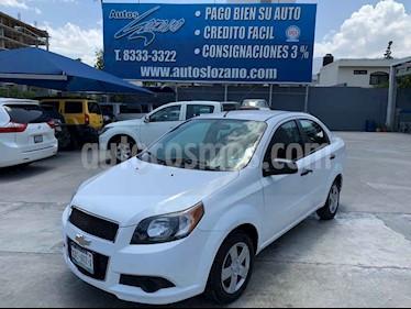 Chevrolet Aveo LS Aut usado (2015) color Blanco precio $109,900