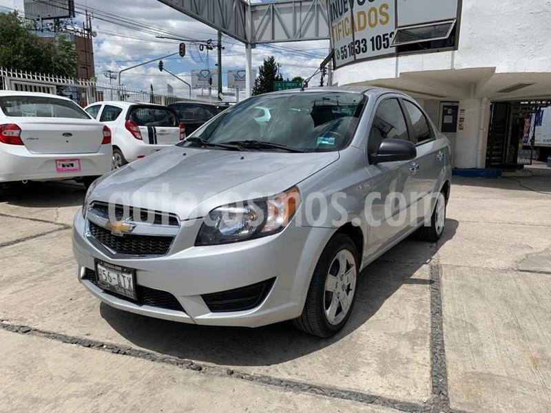 Chevrolet Aveo LT usado (2018) color Plata Brillante precio $132,000