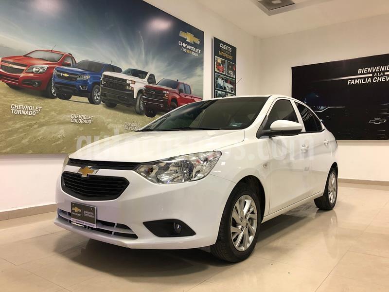 Chevrolet Aveo LT Aut usado (2018) color Blanco precio $170,000