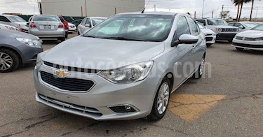 Chevrolet Aveo 4p LTZ L4/1.5 Aut usado (2018) color Plata precio $157,900