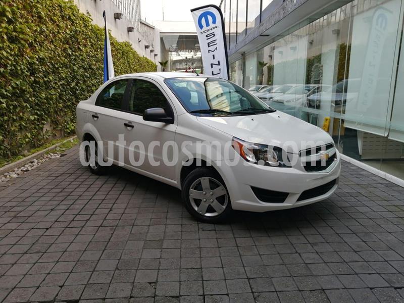Foto Chevrolet Aveo LT Aut usado (2018) color Blanco precio $145,000
