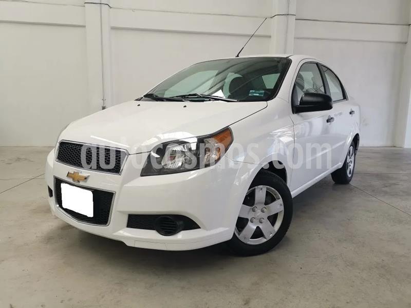 Chevrolet Aveo LT Aut usado (2017) color Blanco precio $500,000
