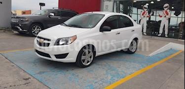 Chevrolet Aveo LS Aa usado (2017) color Blanco precio $145,000