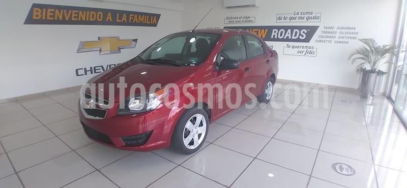 Chevrolet Aveo LS Aa usado (2018) color Rojo precio $150,000
