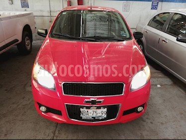 Chevrolet Aveo LT usado (2017) color Rojo Victoria precio $122,500