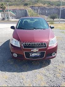Chevrolet Aveo LTZ usado (2015) color Rojo Tinto precio $105,000