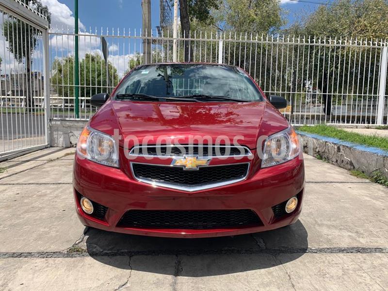 Chevrolet Aveo LTZ usado (2019) color Rojo precio $149,900