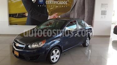 Chevrolet Aveo 4P LT AT A/AC. VE BA ABS R-15 usado (2018) color Azul Marino precio $160,900