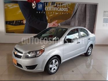 Chevrolet Aveo LS Aa usado (2018) color Plata precio $136,900