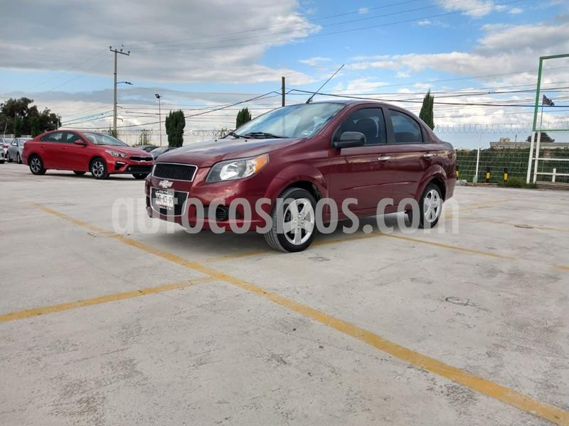 Chevrolet Aveo LT usado (2015) color Rojo Cobrizo precio $120,000