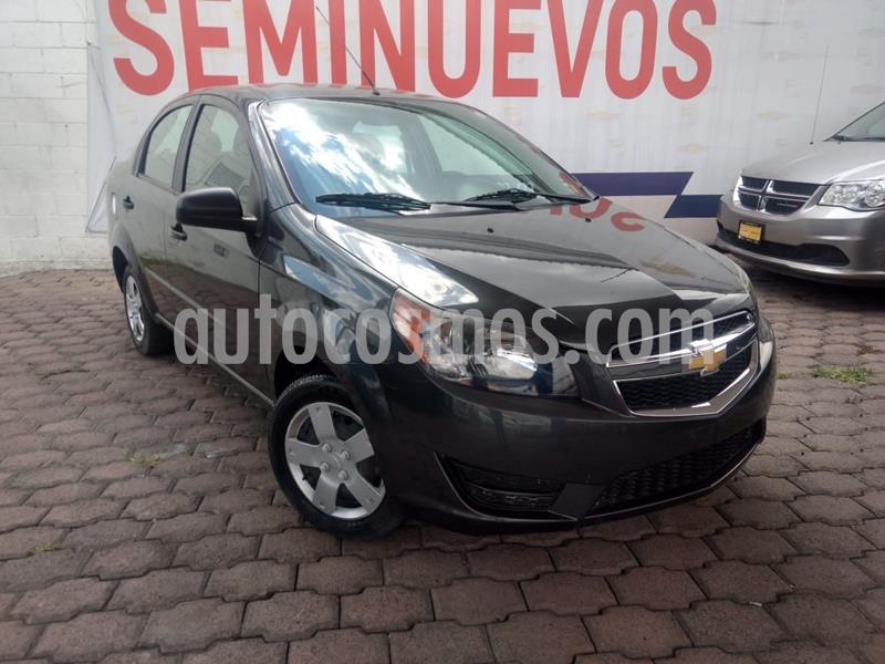 Chevrolet Aveo LS usado (2018) color Negro precio $140,000