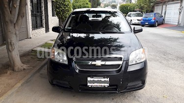 Chevrolet Aveo Paq M usado (2009) color Negro precio $65,000