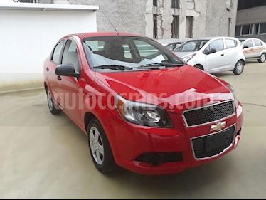 Chevrolet Aveo LT Aut usado (2015) color Rojo precio $108,000