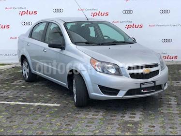 Chevrolet Aveo LT (Nuevo) usado (2017) color Plata precio $144,001