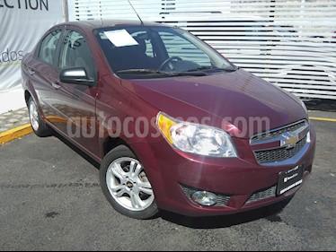 Chevrolet Aveo LTZ Aut usado (2017) color Rojo Tinto precio $155,000