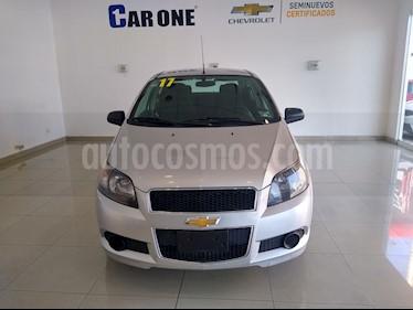 Chevrolet Aveo LT Aut usado (2017) color Plata precio $139,000