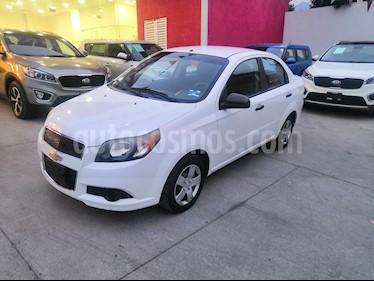 Chevrolet Aveo LS Aa usado (2013) color Blanco precio $90,000