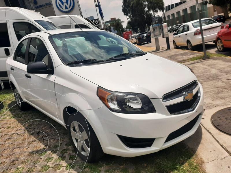 Foto Chevrolet Aveo LS usado (2018) color Blanco precio $152,000