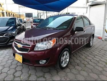 Chevrolet Aveo 4P LTZ L4/1.6 AUT usado (2017) color Rojo precio $168,000