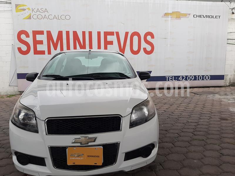 Chevrolet Aveo LT (Nuevo) usado (2014) color Blanco precio $105,000