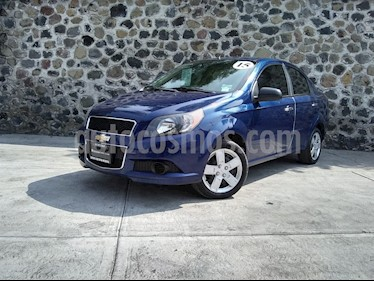 Foto Chevrolet Aveo LT usado (2015) color Azul Metalico precio $135,000